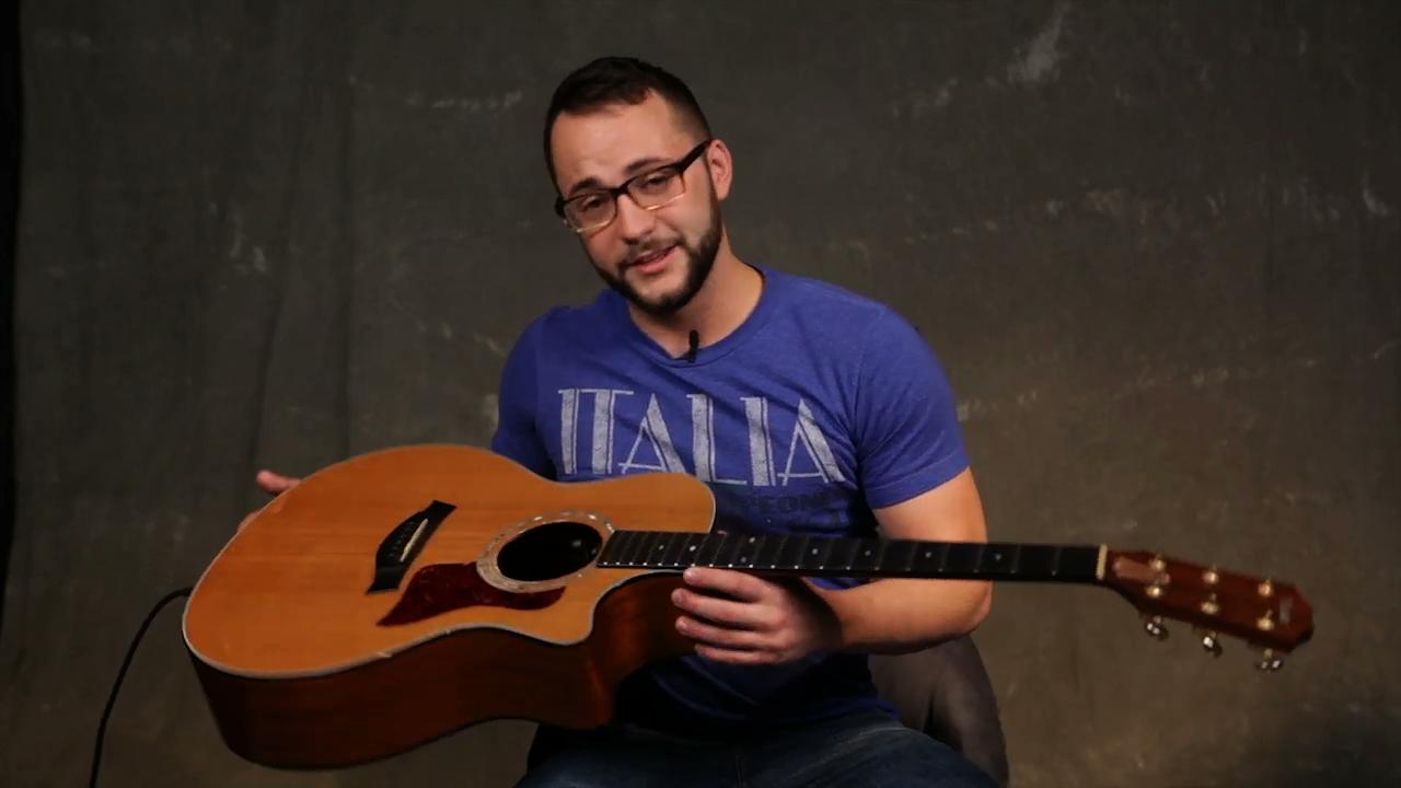 Beginner acoustic   changing strings