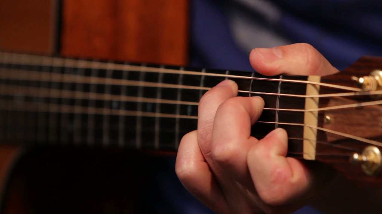 Beginner acoustic c  chord shapes